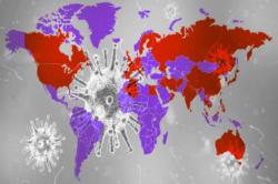 Propagación de Coronavirus a nivel mundial